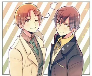 hetalia, italy, and romano image