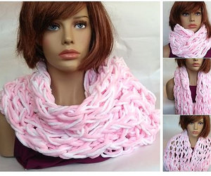 etsy, fleece, and knitted scarves image