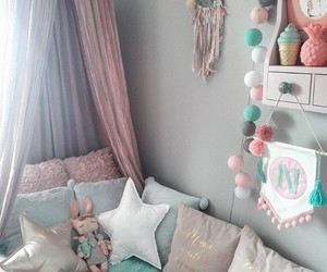 baby, decoration, and room image