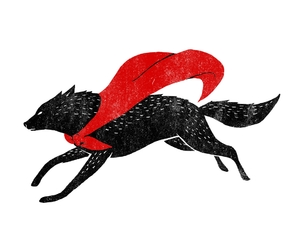 fairytales, illustration, and little red riding hood image