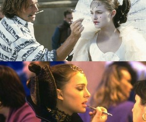 attack of the clones, natalie portman, and star wars image