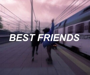 aesthetic, best friends, and edit image
