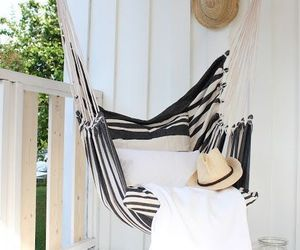 beautiful, hammock, and home image