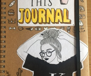 doodles, journal, and tumblr image
