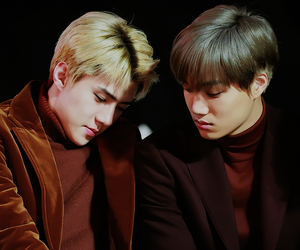 oh, sehun, and kai image