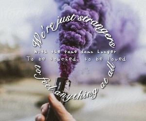 edit, lyric, and purple image