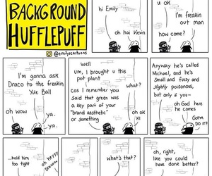 comic, funny, and harry potter image