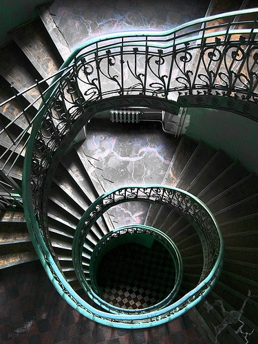 classic, stairs, and warsaw image