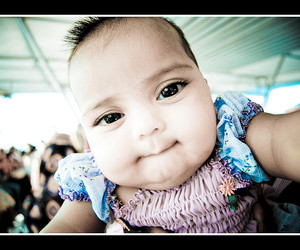 blue, cute baby, and eyes image