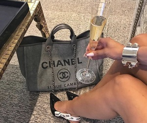 champagne, chanel, and cute image