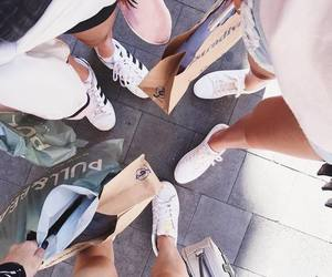 shopping, shoes, and friends image