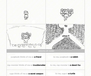 jin, suga, and bts+festa image