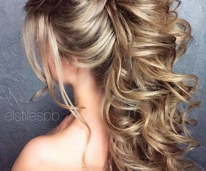 curls, goals, and Prom image