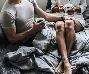 bedroom, couples, and grunge image