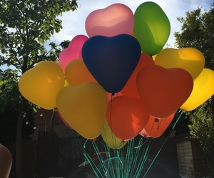 baloons and birthday image