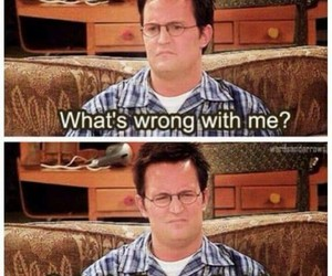 friends, funny, and chandler bing image