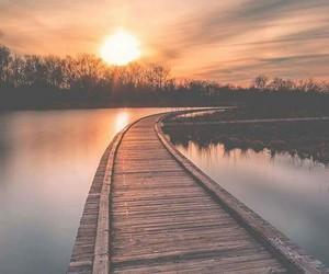 photography, landscape, and sunset image