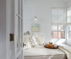 daybed, home decor, and reading nook image