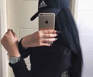 adidas, iphone, and nails image