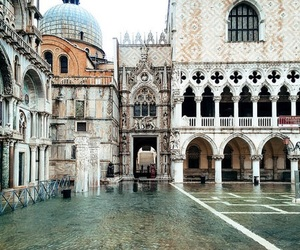 architecture, venice, and building image