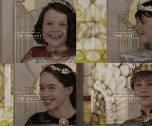 edmund pevensie, lucy pevensie, and the chronicles of narnia image
