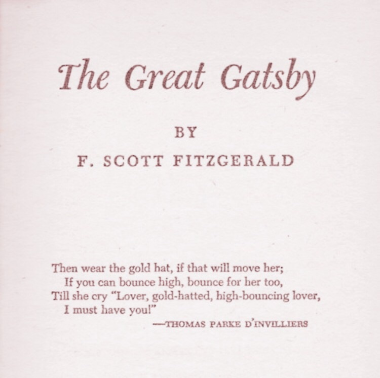 The Great Gatsby Quotes | I Love The Great Gatsby On We Heart It