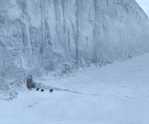 game of thrones and snow image