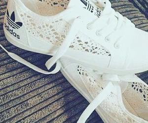 adidas, Blanc, and white image