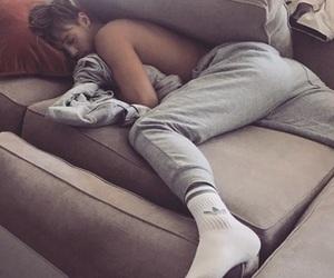 cuddle, Hot, and sleep image