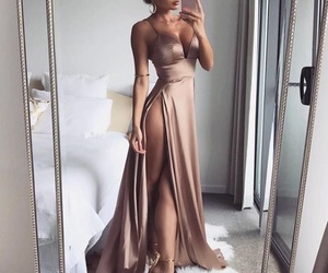 body, dress, and goal image