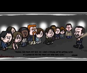 art, twd season 6, and serie image