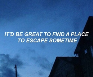aesthetic, grunge, and quotes image