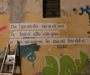 amore, graffiti, and wall image
