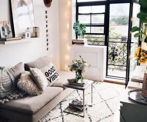 apartment, dark, and decor image
