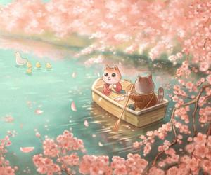 animal, ari0_0ari, and blossoms image