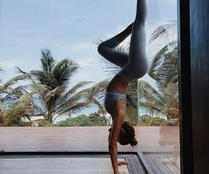pretty and yoga image