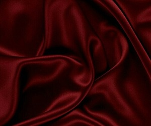 red, aesthetic, and silk image