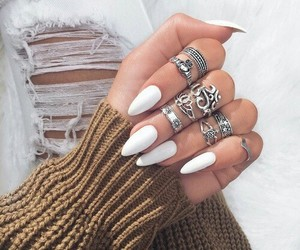 beautiful, girly, and uñas image