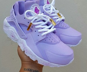 purple, shoes, and nike image