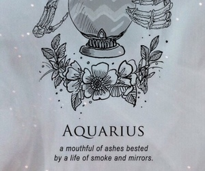 aquarius, wallpaper, and zodiac image