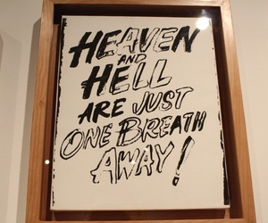 art, heaven, and hell image
