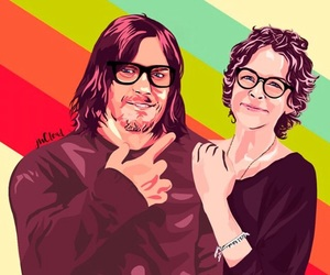 art, the walking dead, and mcreedus image