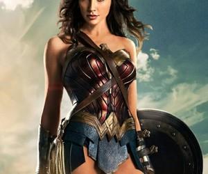 DC, wonder woman, and gal gadot image