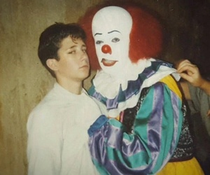 90's and clown image