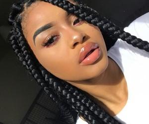 girl, braid, and pretty image