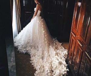 blanco, moda, and novias image