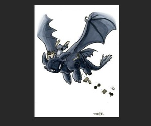 stitch, toothless, and how to train your dragon image