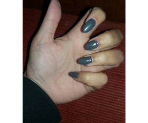 almonds, grey, and nails image