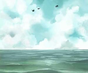 sea, webtoon, and manga image
