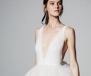 fashion, Marchesa, and wedding dress image